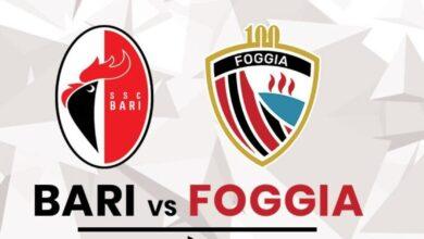 Photo of Derby Bari-Foggia: deciso il giorno della gara