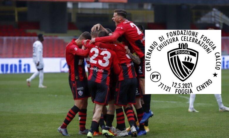 Photo of Il 12 maggio disponibile un annullo filatelico per il Centenario del Foggia Calcio