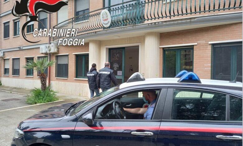 carabinieri cerignola arresto rapinatore
