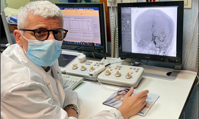 foto Dott. Walter Lauriola - Responsabile SSD Neuroradiologia Interventistica