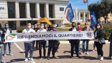 Photo of Coprifuoco e degrado del Quartiere Ferrovia, a Foggia Gioventù Nazionale fa sentire la propria voce