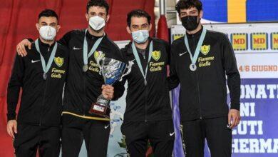 Photo of I foggiani trionfano ai Campionati Assoluti di Scherma: sul podio Bonsanto, D'Armiento, Samele e Nardella