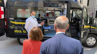 Photo of In Puglia attiva l'ambulanza della Guardia di Finanza: sarà a disposizione di tutto il territorio pugliese
