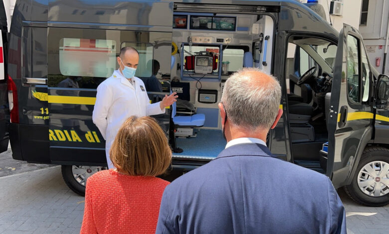 ambulanza gdf