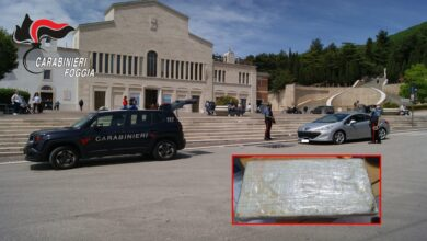 Photo of San Giovanni Rotondo, arrestata 43enne trovata in possesso di oltre un chilo di cocaina