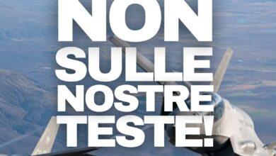 """Photo of Foggia, """"Non sulle nostre teste"""": mobilitazione contro le esercitazioni militari ad Amendola"""