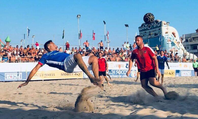 beach soccer gargano