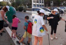 Photo of Foggia, volontari ripuliscono viale Luigi Pinto: raccolti rifiuti abbandonati