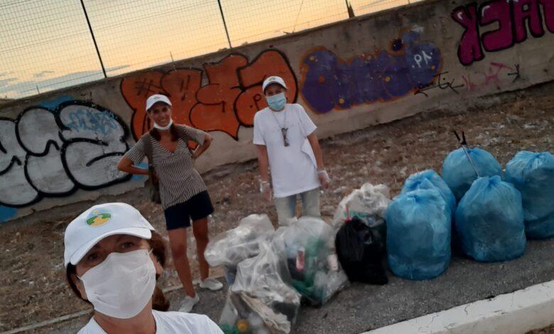 volontarie foggia rifiuti