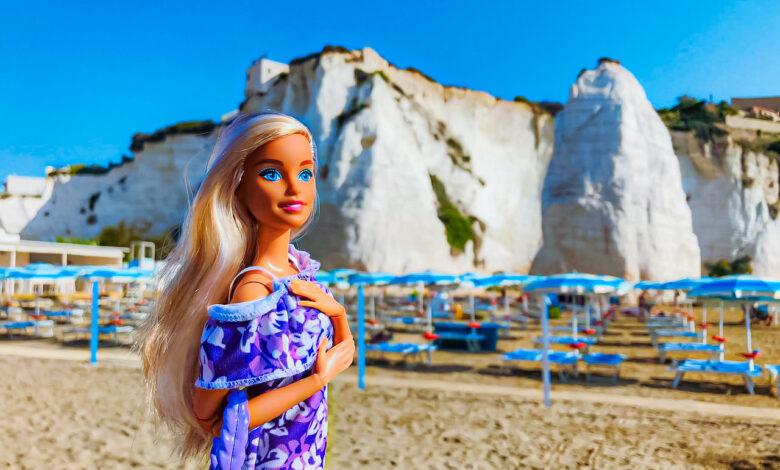 barbie in town vieste