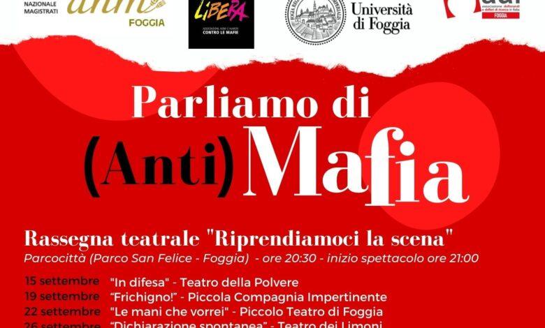 foggia evento Parliamo di (anti)mafia