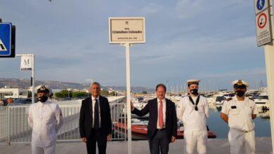 Photo of Marina del Gargano, cerimonia a Manfredonia per l'inaugurazione dei moli Colombo e Vespucci