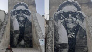 Photo of A Vieste l'ultimo murales di Alessandro Tricarico dedicato a Isa Cappabianca