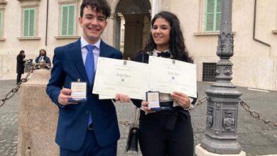 """Photo of Due studenti di San Giovanni Rotondo premiati da Mattarella con il titolo di """"Alfieri del Lavoro"""""""